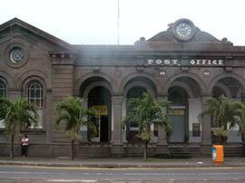 Postal and Courier Services in Mauritius, the Central Post Office, Port Louis.